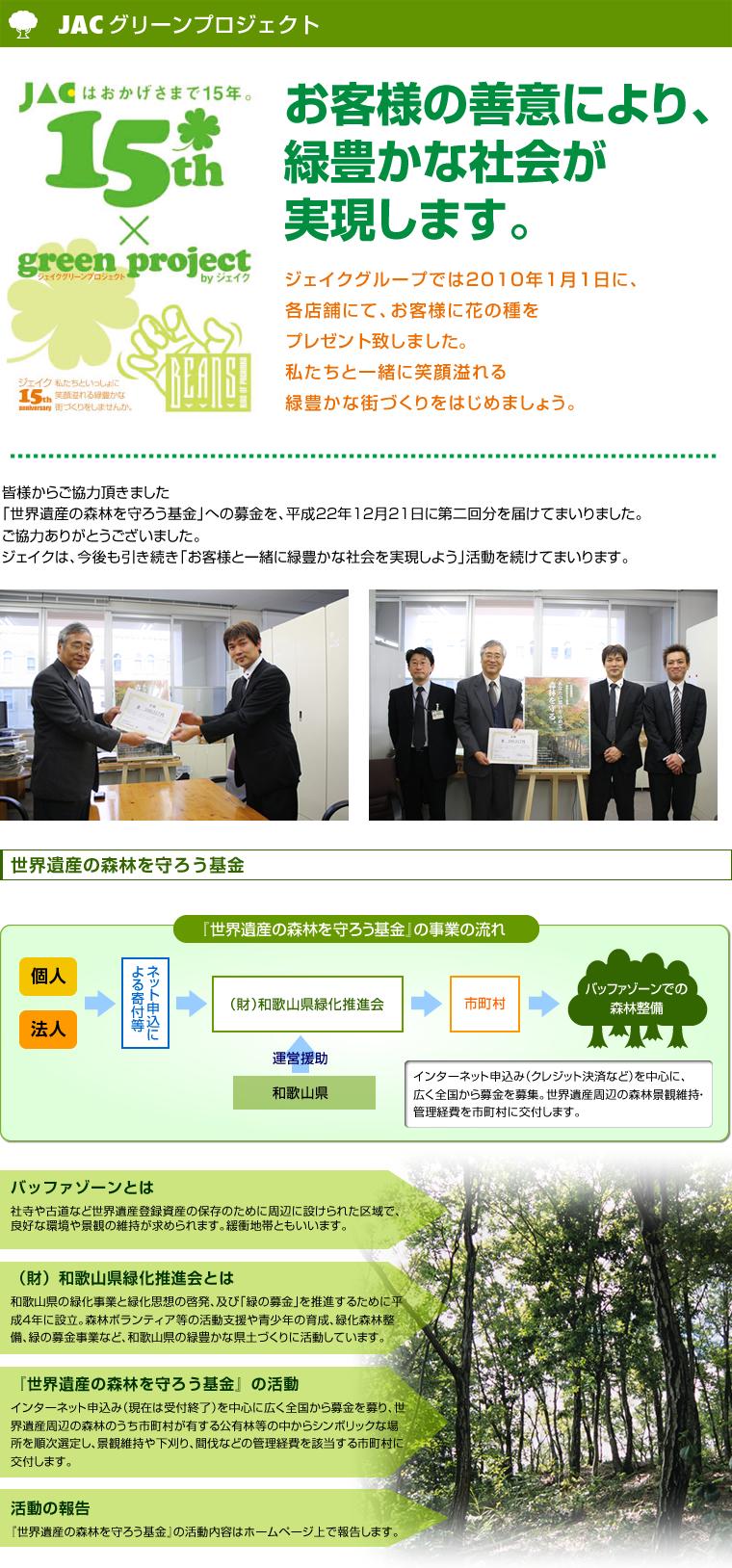 グリーンプロジェクト